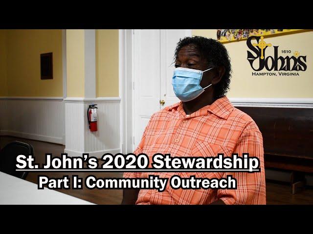 St. John's 2020 Stewardship Part I: Community Outreach