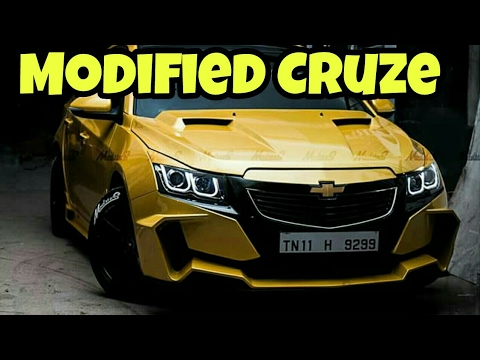 Bumble Bee Inspired Modified Chevrolet Cruze By Modsters ...