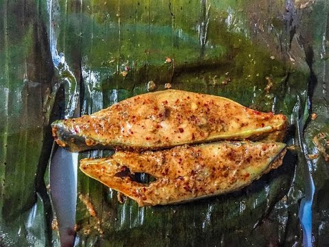 Steamed Fish In Banana Leaf - South Indian Style
