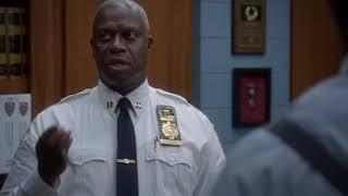Captain Holt plays the gay card