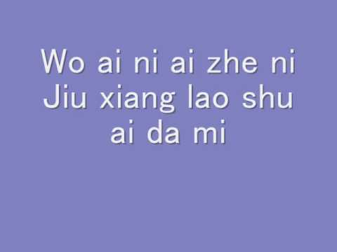 Lao Shu Ai Da Mi (Remix) W/ Lyrics