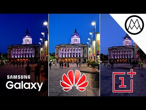 The Huawei P20 Pro camera can see in the Dark!
