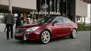 The New 2014 Buick Regal - Turn by Turn Commercial