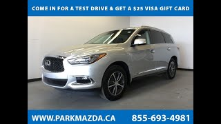 ICE METAL 2018 INFINITI QX60  Review Sherwood Park Alberta - Park Mazda