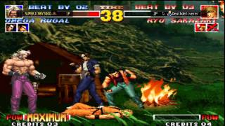 The King Of Fighters 95 - PS3 Online Matches (SUPERJIMMY3000 vs Deathdeliverer)