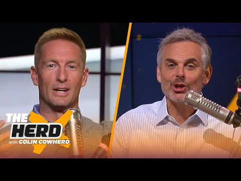 Joel Klatt on Brian Kelly's Notre Dame success, CFB rankings, Justin Fields, Jim Harbaugh | THE HERD