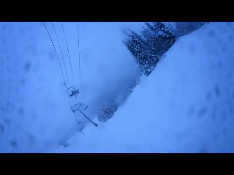 Snowboarding 360° Degree EDM Dance Music Virtual Reality Jumps and air Terrain Park Snoqualmie Song