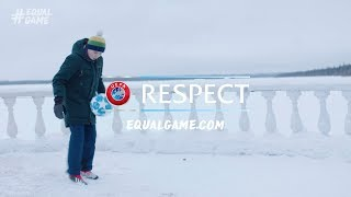 Arctic football: When you love football, you'll play anywhere #EqualGame