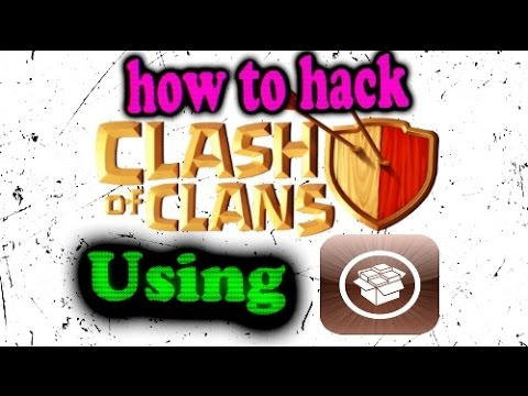 How to hack Clash of Clans iOS using cydia.
