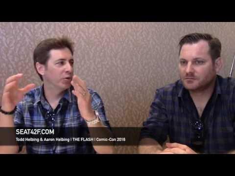 Todd Helbing & Aaron Helbing THE FLASH  Comic Con 2016