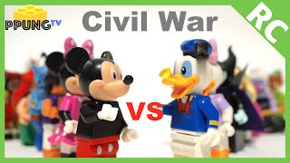 LEGO Disney Minifigures : Civil War Trailer (Mindstorms EV3 & RC) by 뿡대디