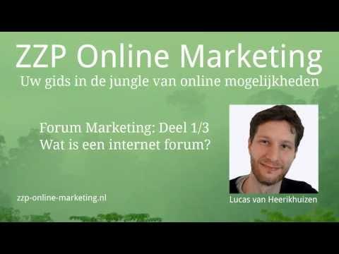 Forum Marketing (1/3): Wat is een internet forum?