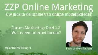 Forum Marketing (1/3): Wat is een internet forum?