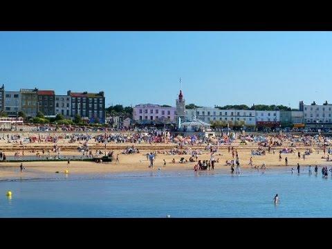 Margate beach - Thanet, East Kent, England