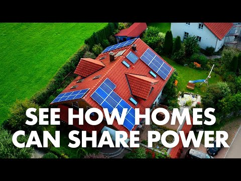 Watch: How sonnen, now part of Shell, is helping homes to share solar power
