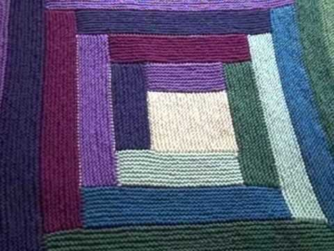 Mason Dixon Log Cabin Baby Blanket Fini Youtube