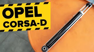 Cómo cambiar Amortiguador OPEL CORSA D - vídeo guía