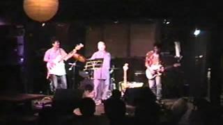 2002年2月23日 京都 拾得にて。 野下祖忍が自身のバンド『野下祖忍バン...
