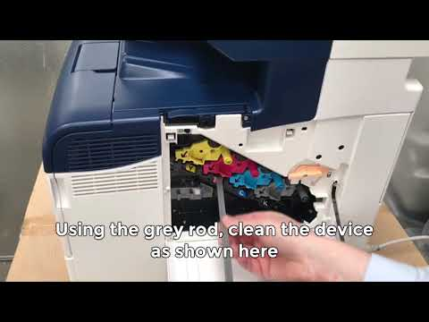 How to Resolve Lines on Prints - Xerox WorkCentre MFP - 6605