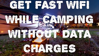 Reliable Internet In Your RV Without Data Charges