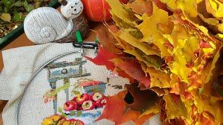 Вышивальная неделя 1-7 октября. Вышивка крестом / Прогулки / Оформленные работы / Новая ротация