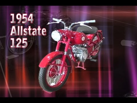 Clymer Manuals 1954 AllState 125 Antique Retro Vintage Classic Single Motorcycle