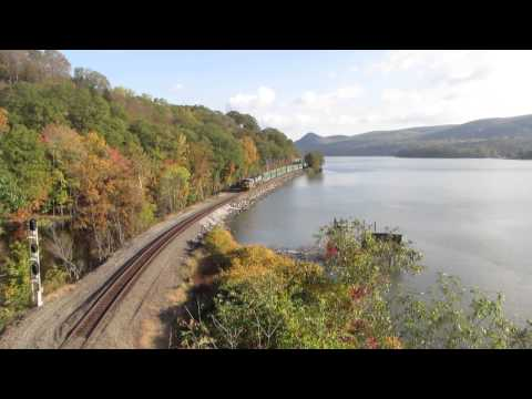 Railroads along the Hudson River