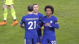 CHELSEA 2-1 CRYSTAL PALACE 10/3/18 GOALS AND HIGHLIGHTS