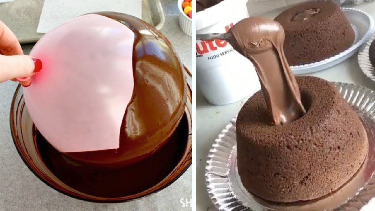 World S Best Chocolate Cake Decorating Tutorial You Need To Try