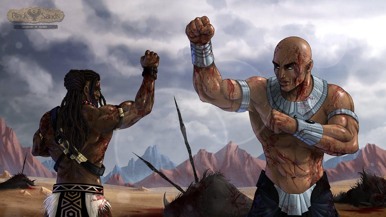 Black Sands: Legends of Kemet Alpha Footage