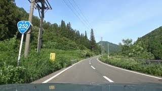 国道252号 新潟県魚沼~六十里越~福島県只見 車載動画 [2013-06]