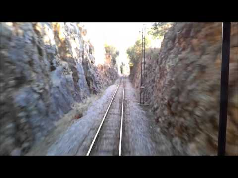 Ferrocarril S.A. - train from Palma de Mallorca to Sóller - 6/2015