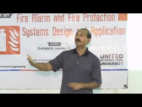 Seminar on Fire Safety & Fire protection - System Design and Application