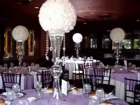 Rose Ball Pomander Centerpieces at The Coral House NY - YouTube