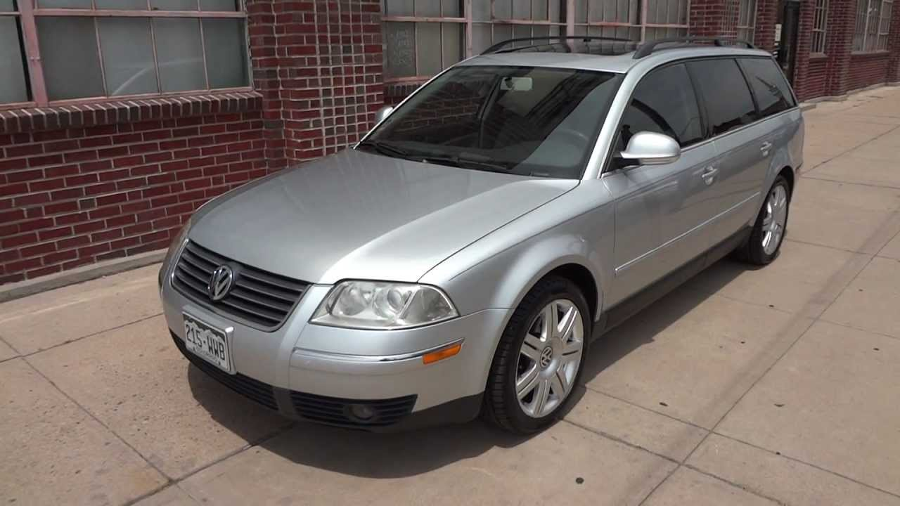 2005 vw tdi passat wagon for sale rare diesel 38 mpg youtube. Black Bedroom Furniture Sets. Home Design Ideas