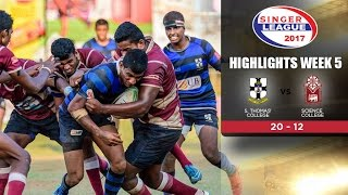 Highlights - S.Thomas' College vs Science College - Schools Rugby 2017