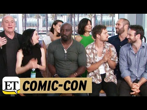 Comic Con 2017: Live With The Cast Of Marvel's 'The Defenders' On Netflix