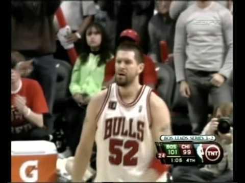 Brad Miller 3-pointer vs. Celtics Game 6 (4.30.09)