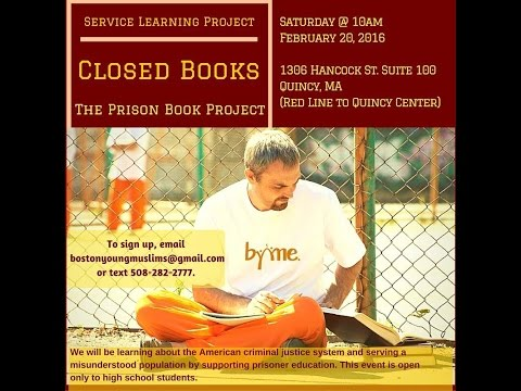 BYME Promo - Prison Book Program