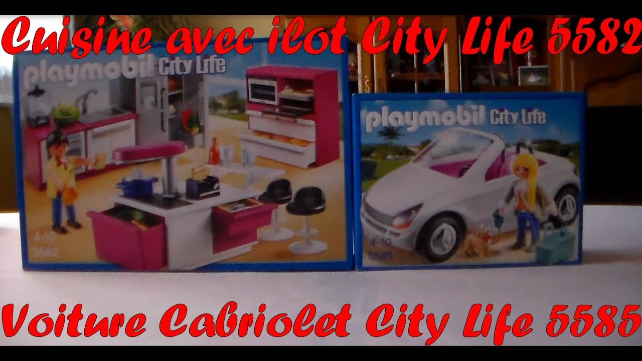 Salon villa moderne play mobil for Cuisine 5582 playmobil