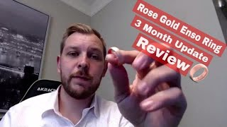 2018 Official Guy Reviews! - ENSO Ring (Men's Rose Gold Elements) Wear & Tear Update!