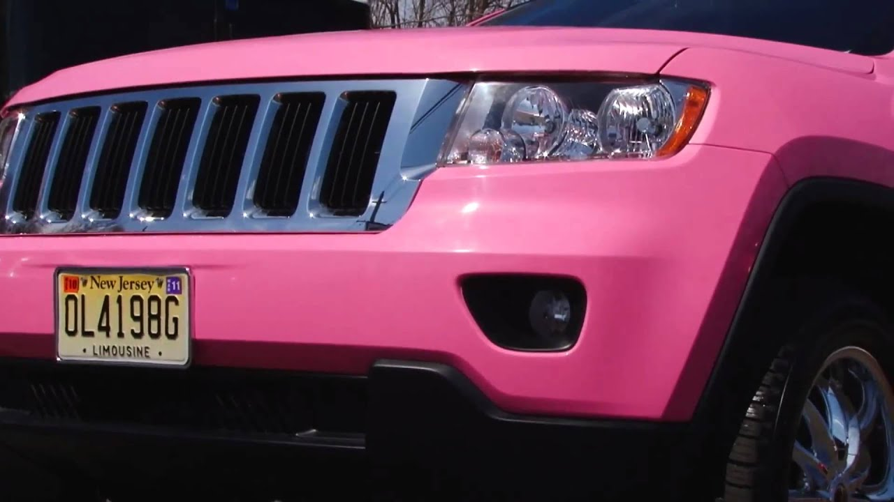 Nj Ny Hot Pink Jeep Limo The Exclusive 2011 Hot Pink Jeep