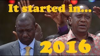 Plan To Sideline DP Ruto From 2022 Started Before 2017 Elections