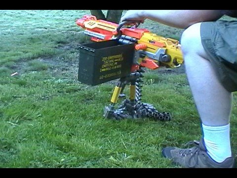 Modded Nerf Vulcan Ammo Capacity Youtube
