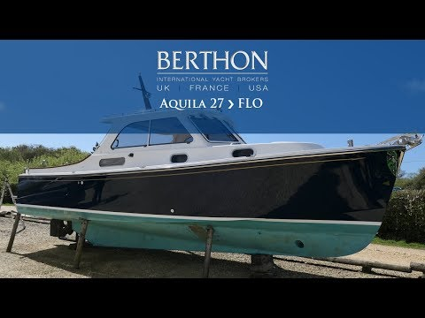 [OFF MARKET] Aquila 27 (FLO) - Yacht for Sale - Berthon International Yacht Brokers