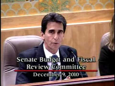 Senate Budget and Fiscal Review Committee 12/09/2010