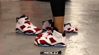 GS Woman's Air Jordan 6 Retro \