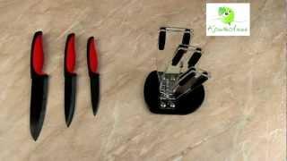 Обзор набора ножей Pomidoro Vamp Nero SET20