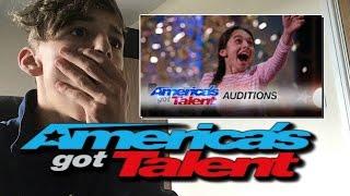 Laura Bretan '13-Year-Old' Opera Singer Gets Golden Buzzer America's Got Talent 2016 - Reaction