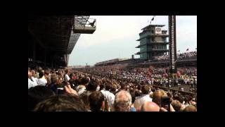 b2 stealth bomber flyover 2011 indy 500 race hd wmv